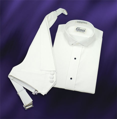 Pique tuxedo shirt for Tuxedo shirt vs dress shirt